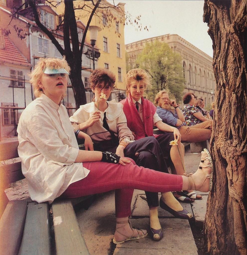 2. Модная рижская молодежь 80-х.