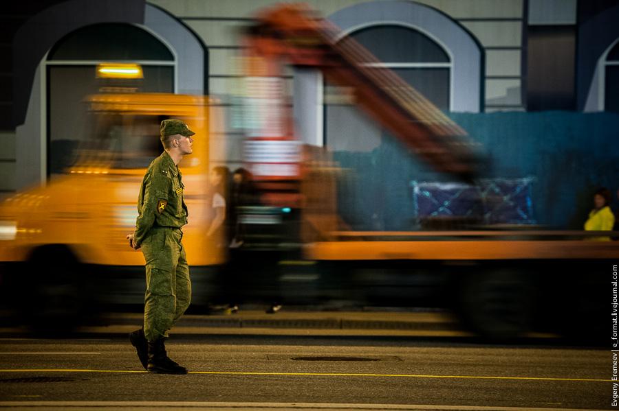 Москва. Первая репетиция Парада победы