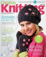 Журнал Creative Knitting - Winter 2012