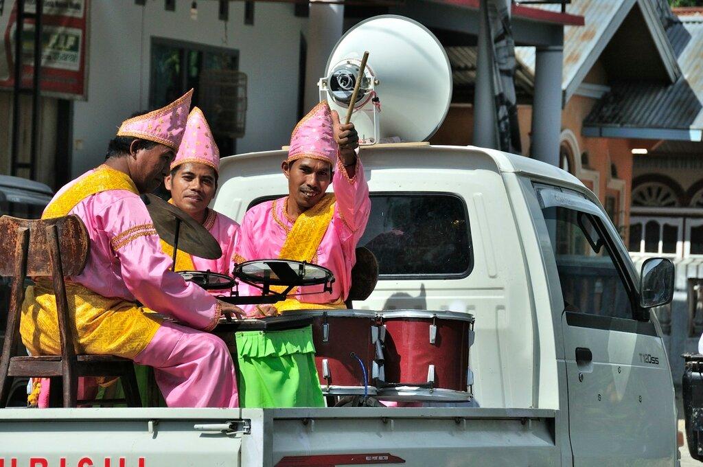 Свадьба на Западной Суматре
