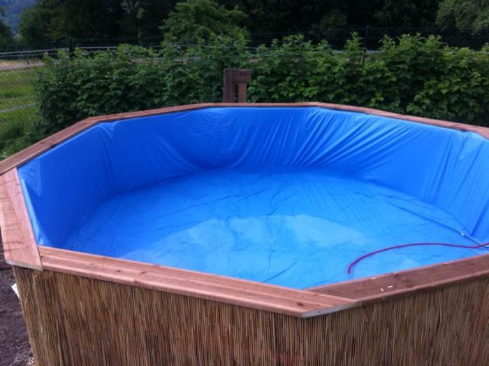 Самодельный бассейн