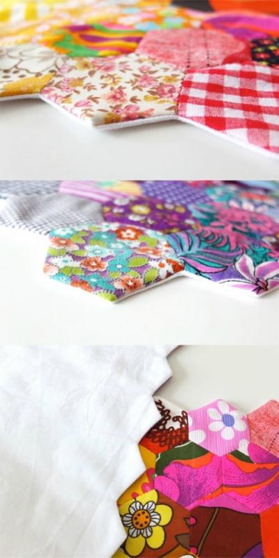 Салфетка из ткани