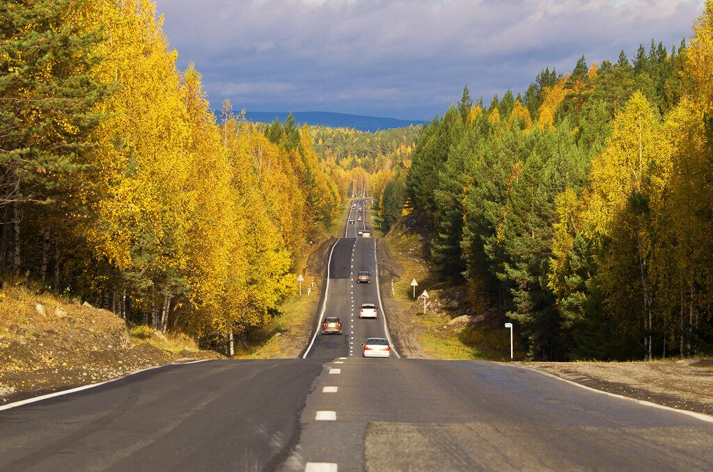 Фото. Мне нравится этот пейзаж, снятый на Nikon D5100 и телеобъектив Nikon 70-300
