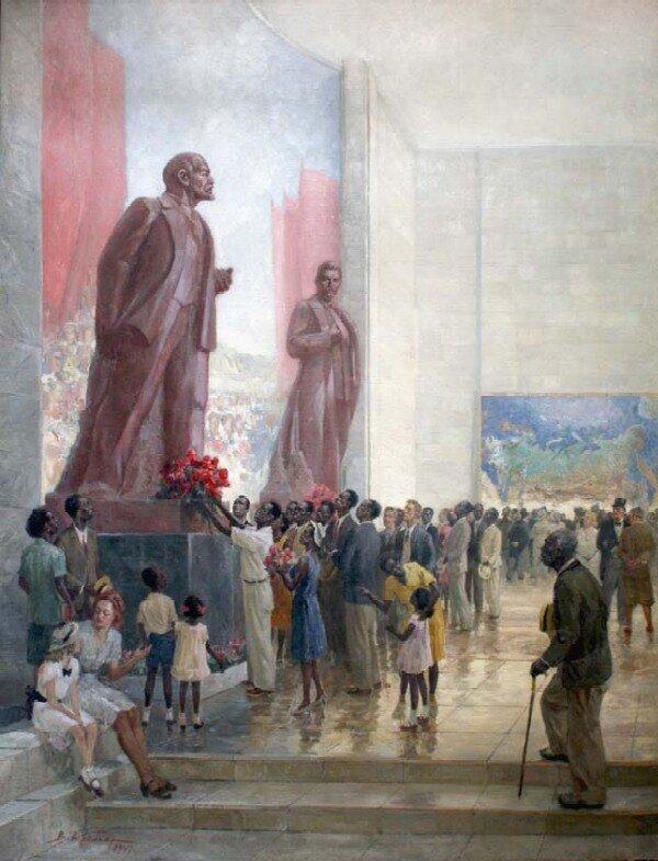 Вениамин Вениаминович Кремер (1899-1977). Павильон СССР на Всемирной выставке в Нью-Йорке в 1939 году.