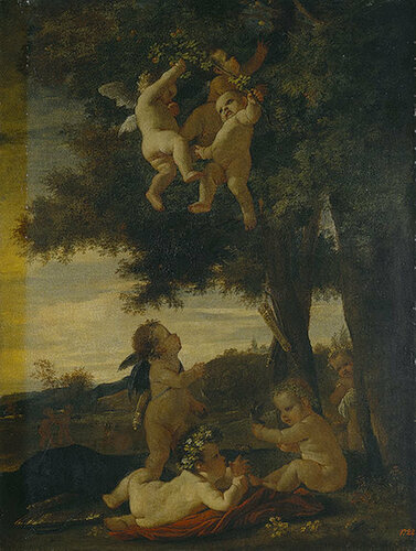 Cupids and Geniuses , 1630-1633.jpg
