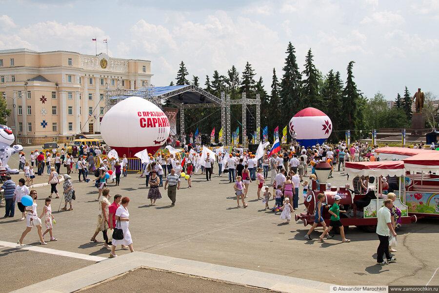 Советская площадь, Саранск, 12.06.2013