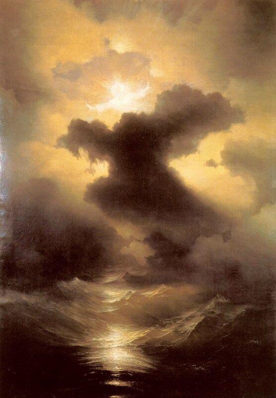 Хаос (Сотворение мира). Айвазовский, картины русских художников
