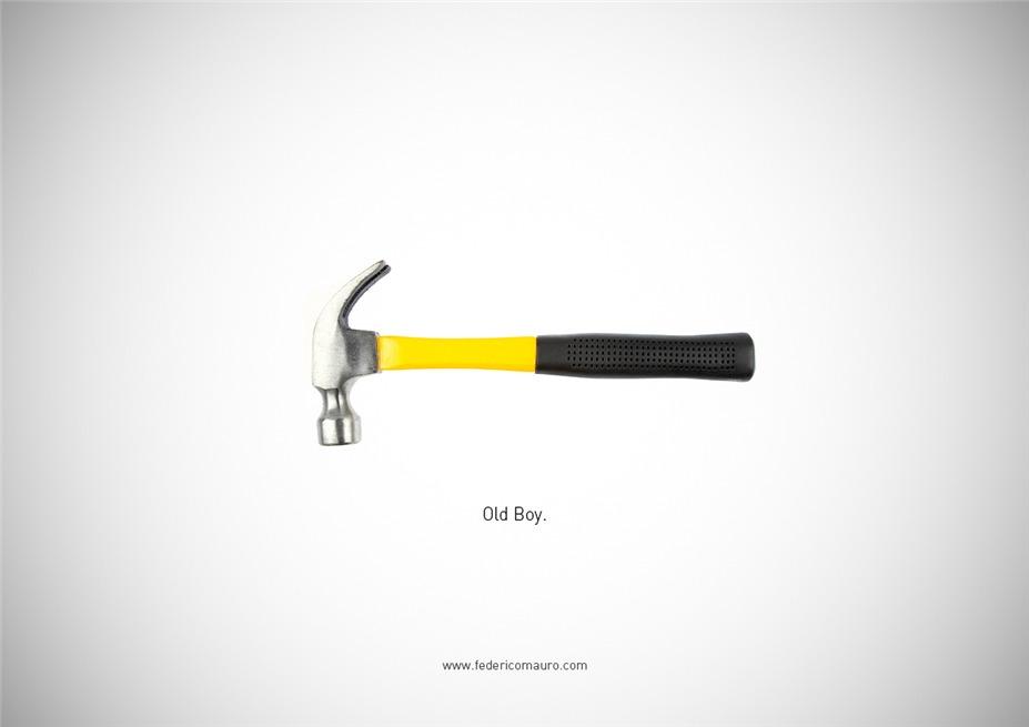Знаменитые клинки, ножи и тесаки культовых персонажей / Famous Blades by Federico Mauro - Old Boy