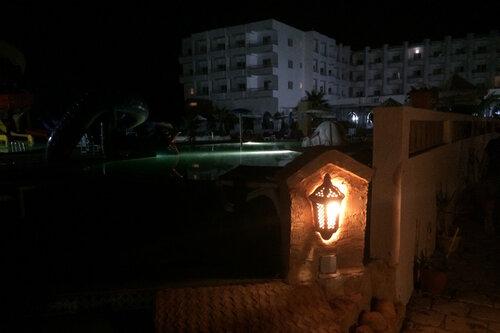 вечернее освещение