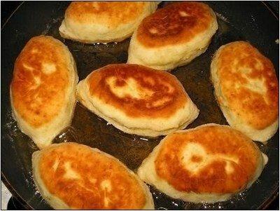 Пирожки на сметане