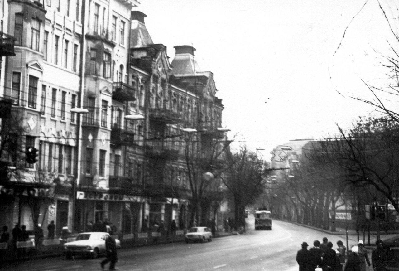 Большая Житомирская. 1980 год.