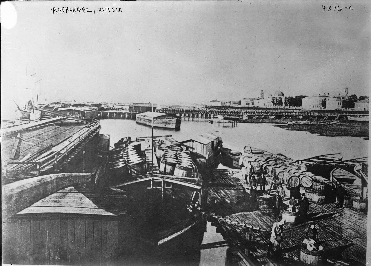Вид порта