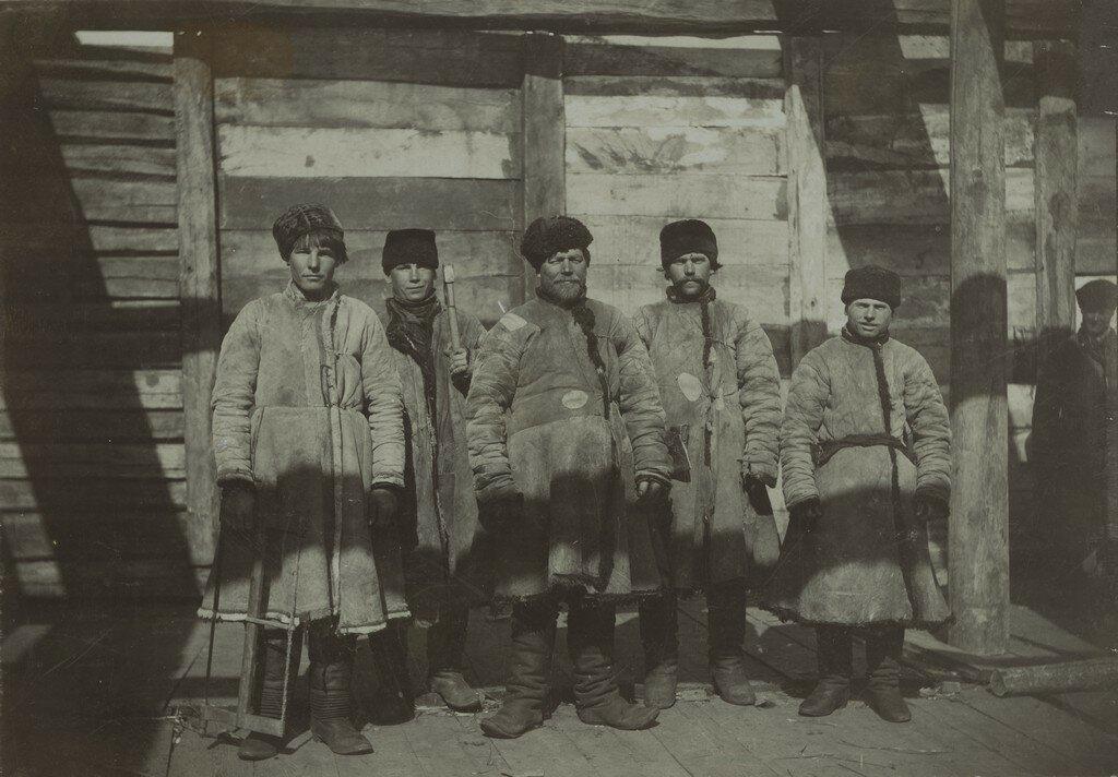 1900-е. Лесорубы.