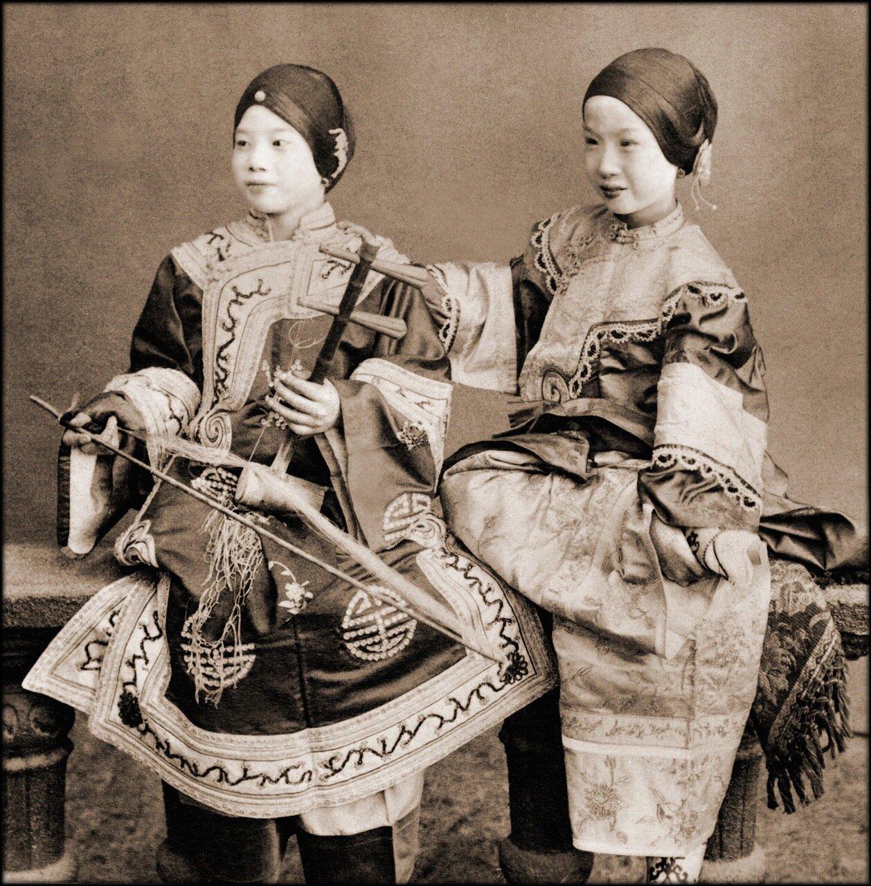 1901.  Певицы.Гонконг