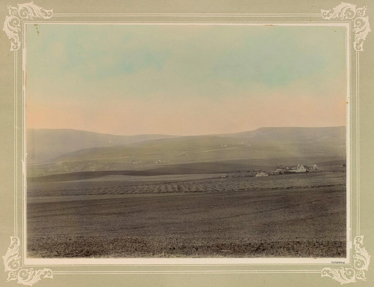 Продолжение поля под Балаклавой, вид с северной стороны
