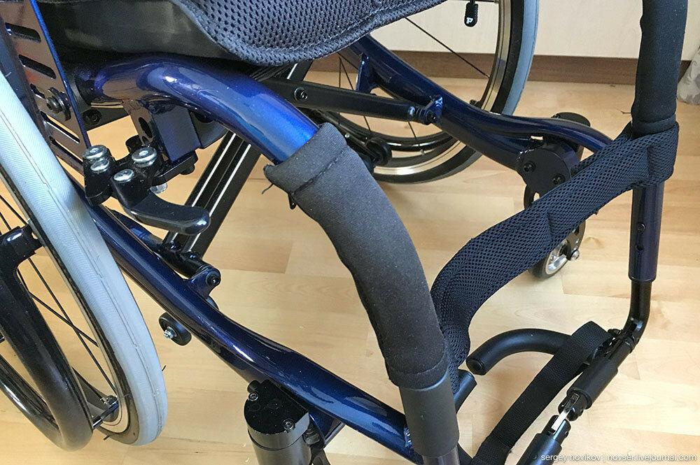 Инвалидная кресло-коляска Ortonica S200