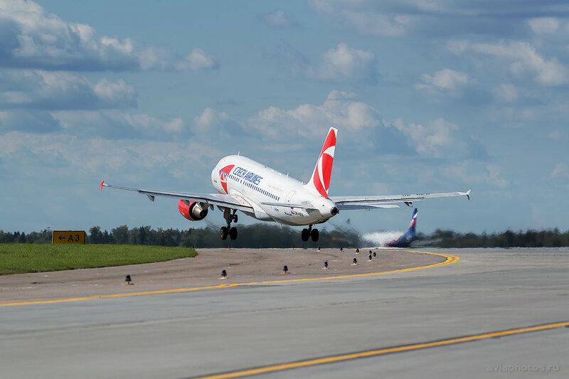 Airbus A319-112 (OK-NEN) CSA - Czech Airlines 338_D807467