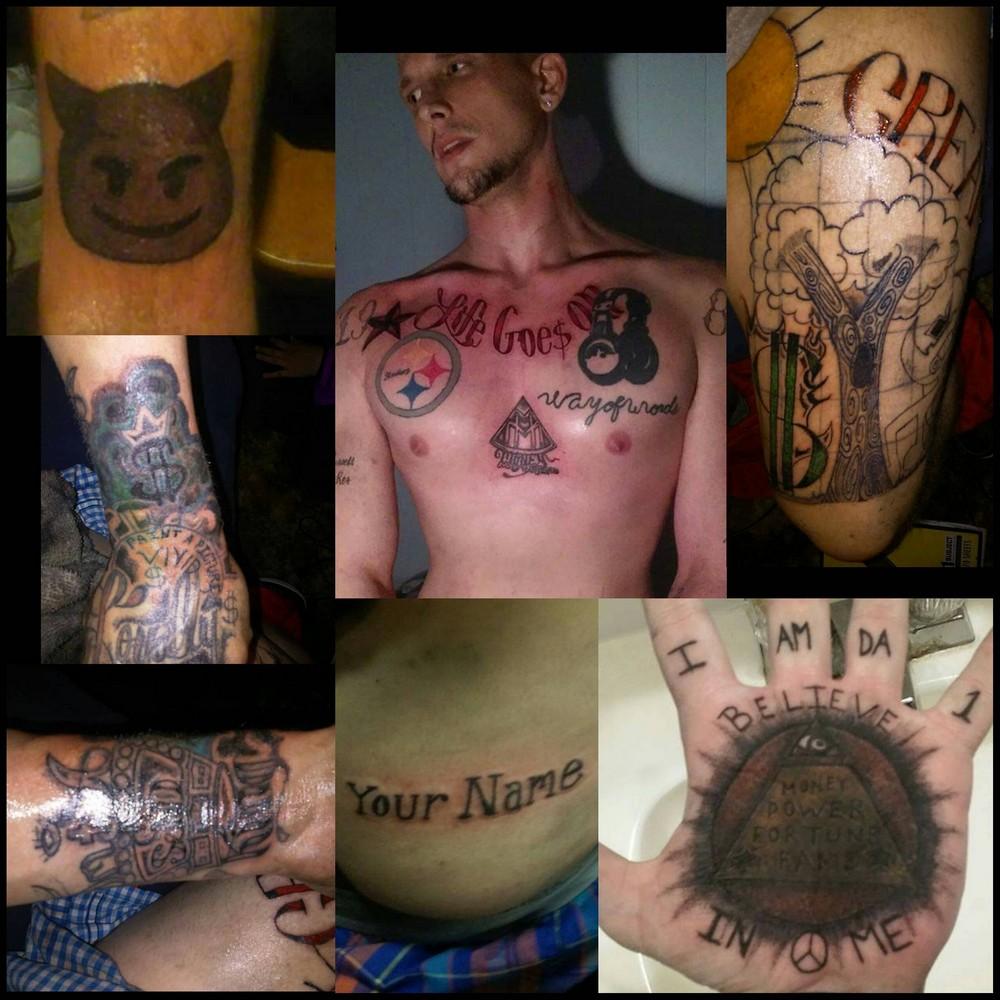 Странные и неудачные татуировки