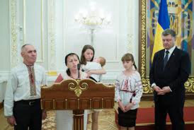 Порошенко вручил госнаграды по случаю годовщины независимости: Яресько получила орден Княгини Ольги