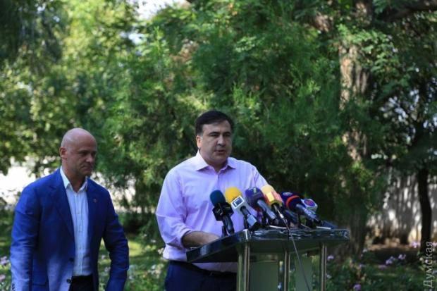 Ради Евровидения Михеил Саакашвили помирился со своим заклятым врагом (фото)