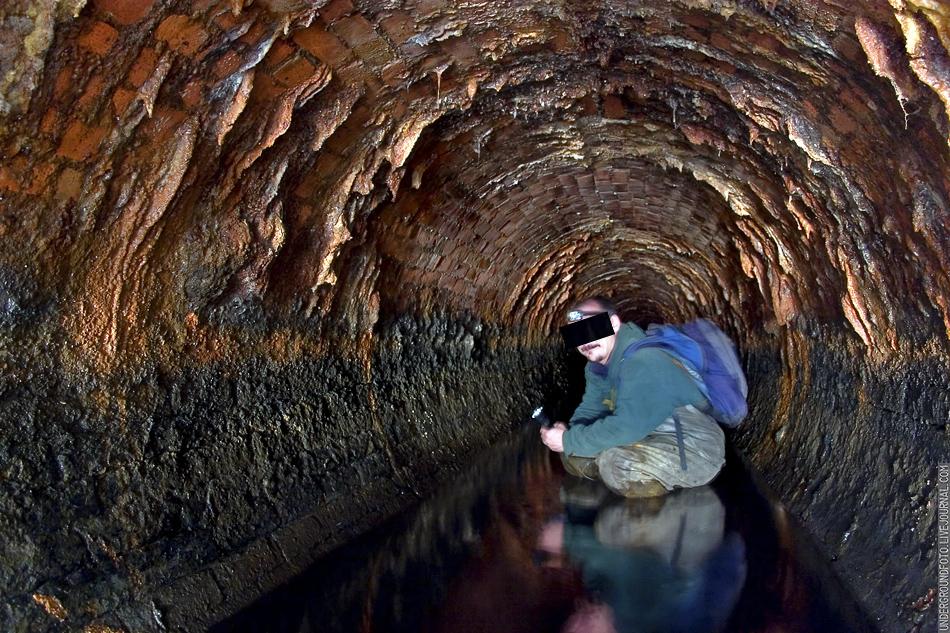 Кирпичная канализация фото