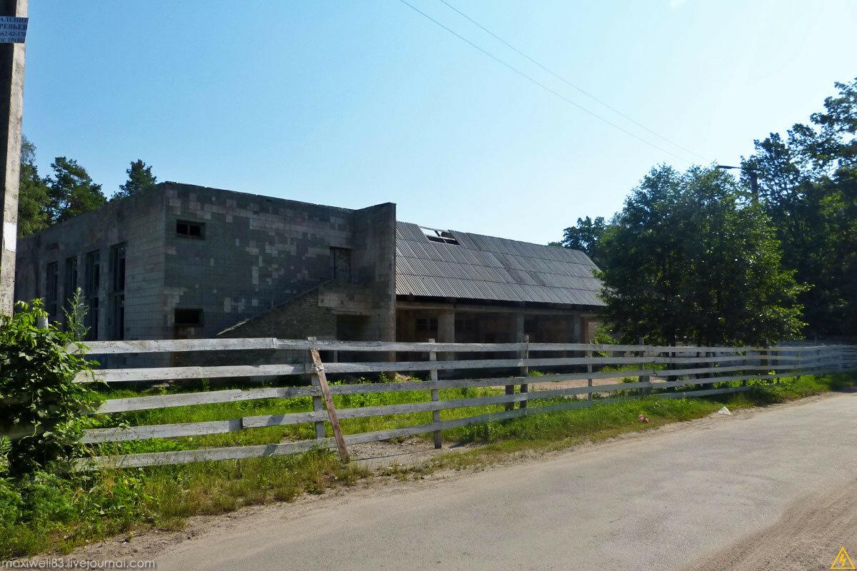 Закинута столова Боярського сільгосптехнікуму