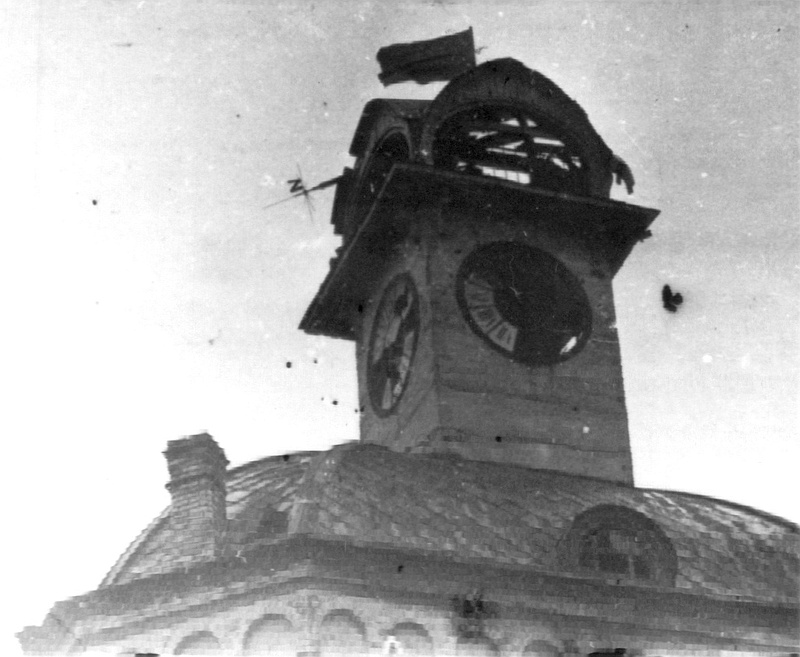 Красное знамя освобождения над Винницей