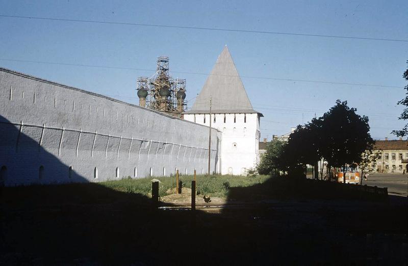 Церковь Илья Пророка - один из главных символом Ярославля, 1958: