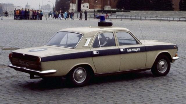 Волга советской милиции
