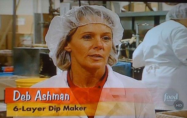 Деб Эшман, производитель шестислойного соуса.
