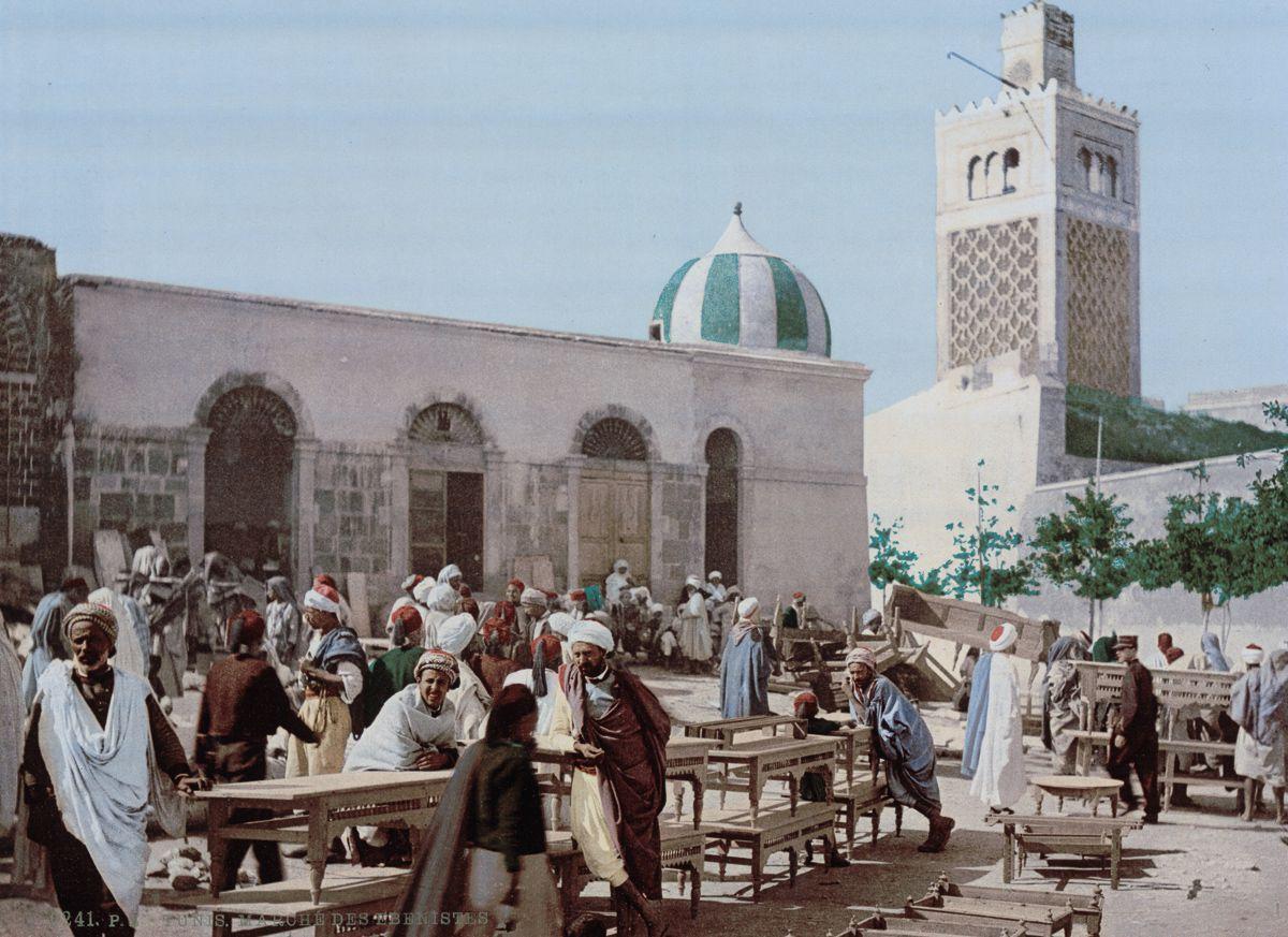 Рынок слоновой кости, Тунис.