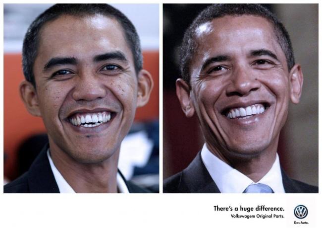 Двойники. Большая разница. Оригинальные запчасти VW