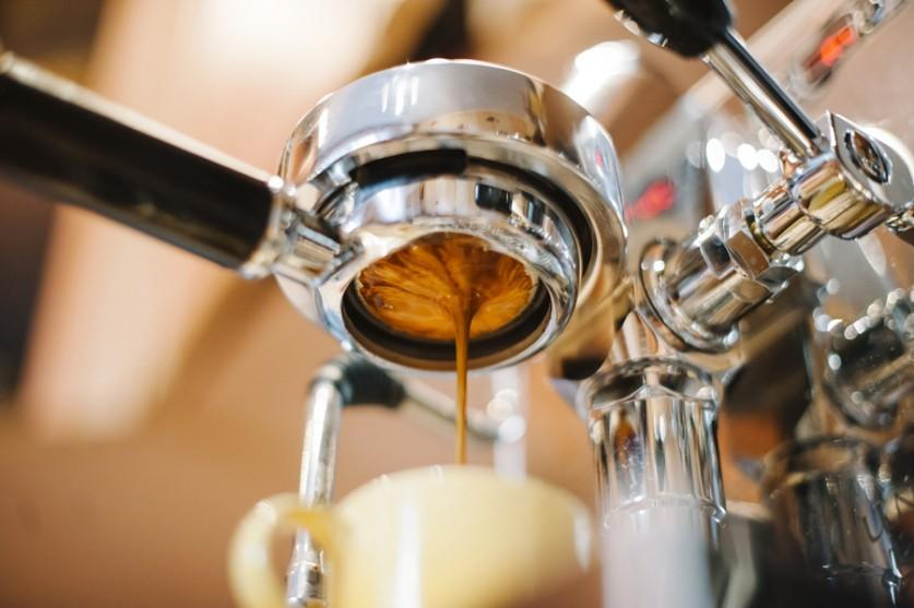Эспрессо льётся. Автор фото: Анастасия Несс