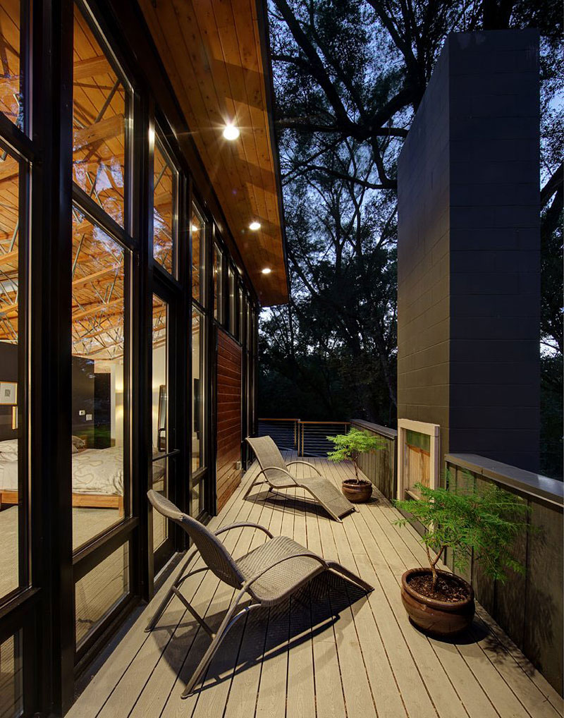 Дом Midvale Courtyard от Bruns Architecture