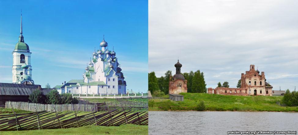 Церковь в Анхимово, 1909/2013. Фото: В. Ратников.