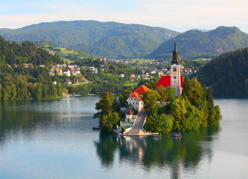 Самые красивые деревни и маленькие города Европы: Блед, Словения