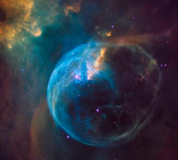 НАСА показало огромный Пузырь
