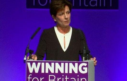 Диана Джеймс оставляет пост лидера английской партии UKIP
