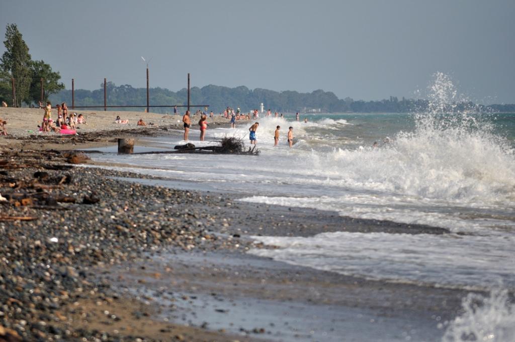 Пляж надым в кабардинке фото момента начала