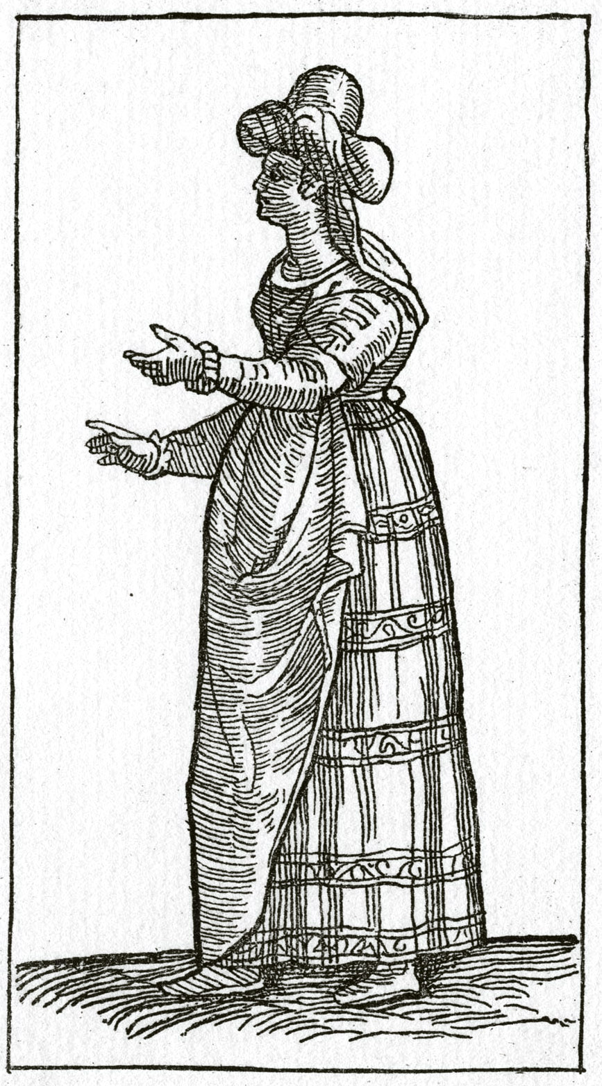 139. Гравюра из книги Чезаре Вечеллио, 1598