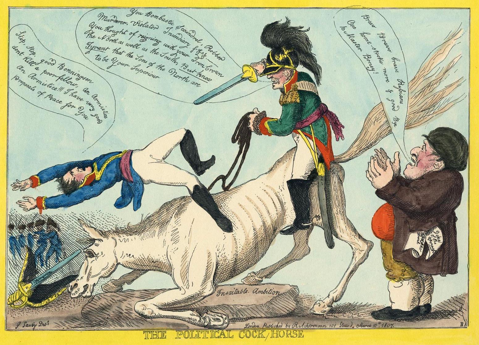 155. The political cock horse