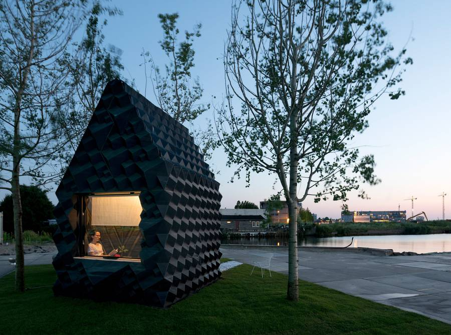 3D-Printed Urban Cabin by DUS Architects