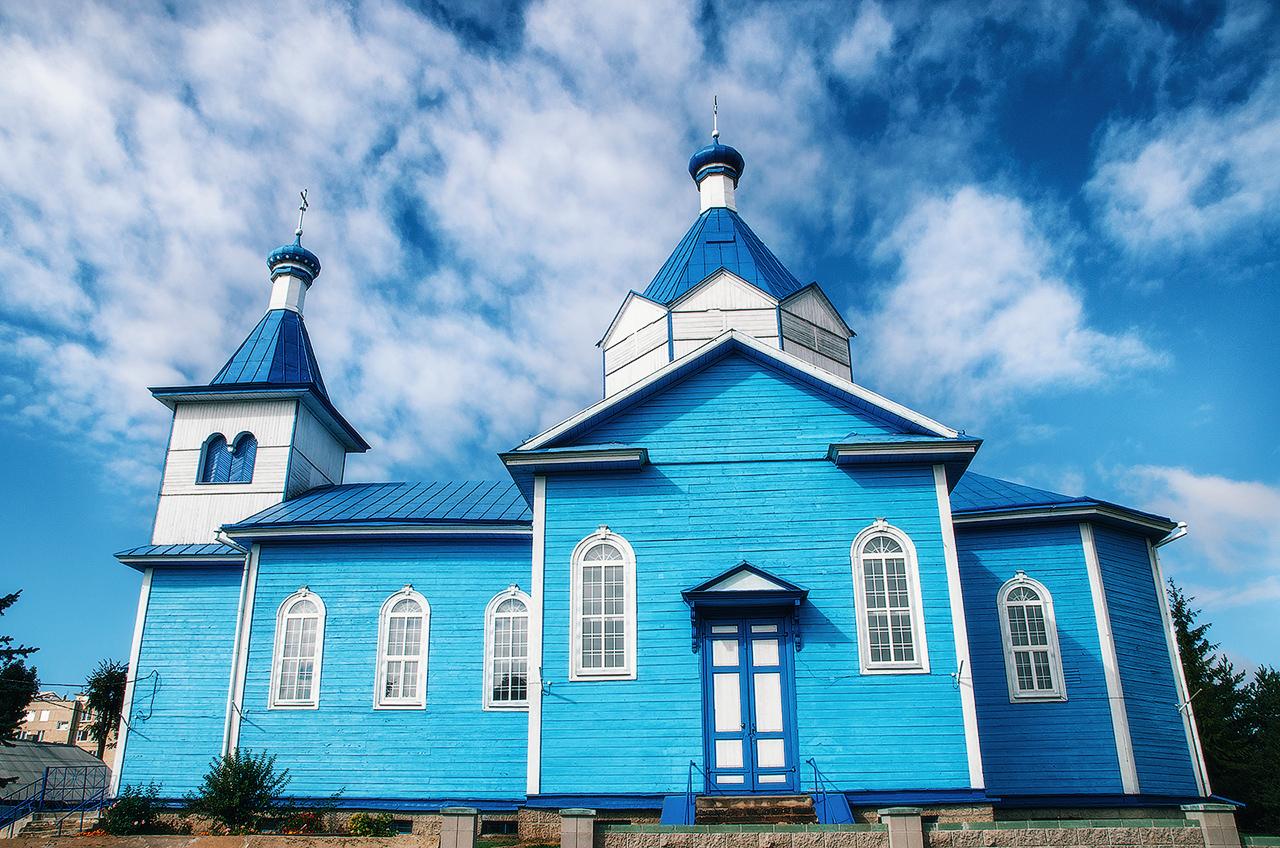 Блогиналибоки. Воложин, Беларусь. Церковь Святых Константина и Елены