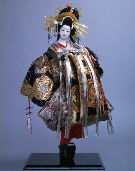 Сербия, Белград, выставка, японские куклы