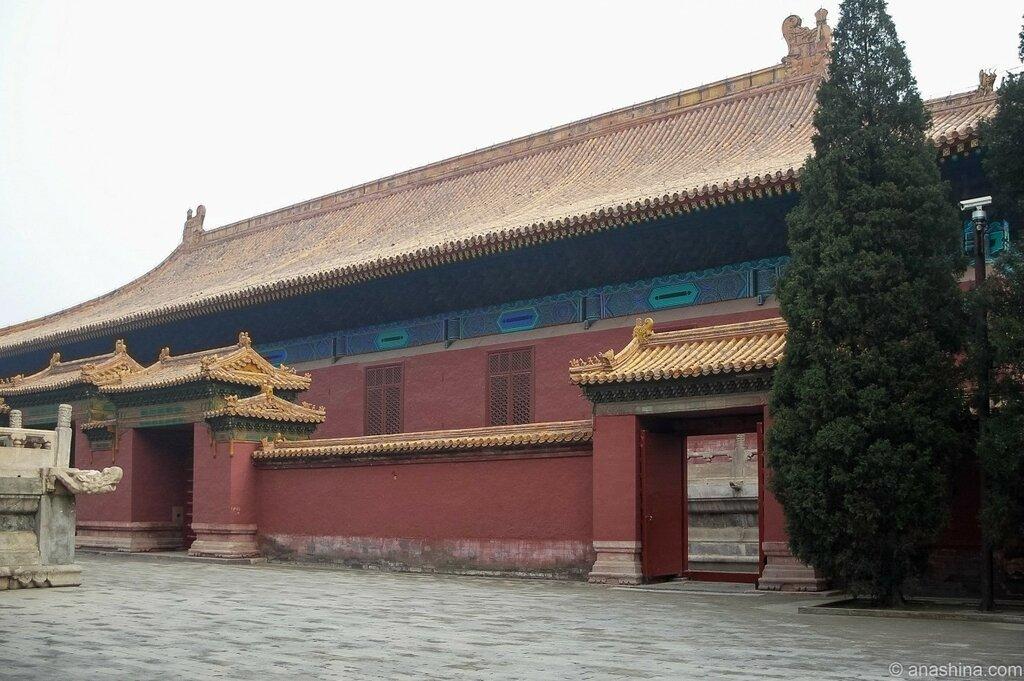 Зал Покоя, Храм Императорских Предков Таймяо, Пекин