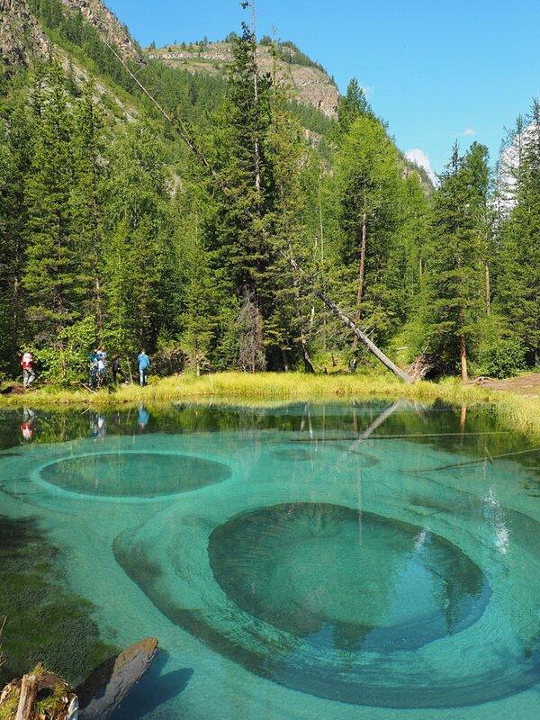 Алтай, Гейзерное (Голубое) озеро - Altai, Geysers (Blue) lake