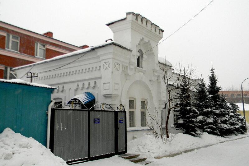 Здание городской больницы