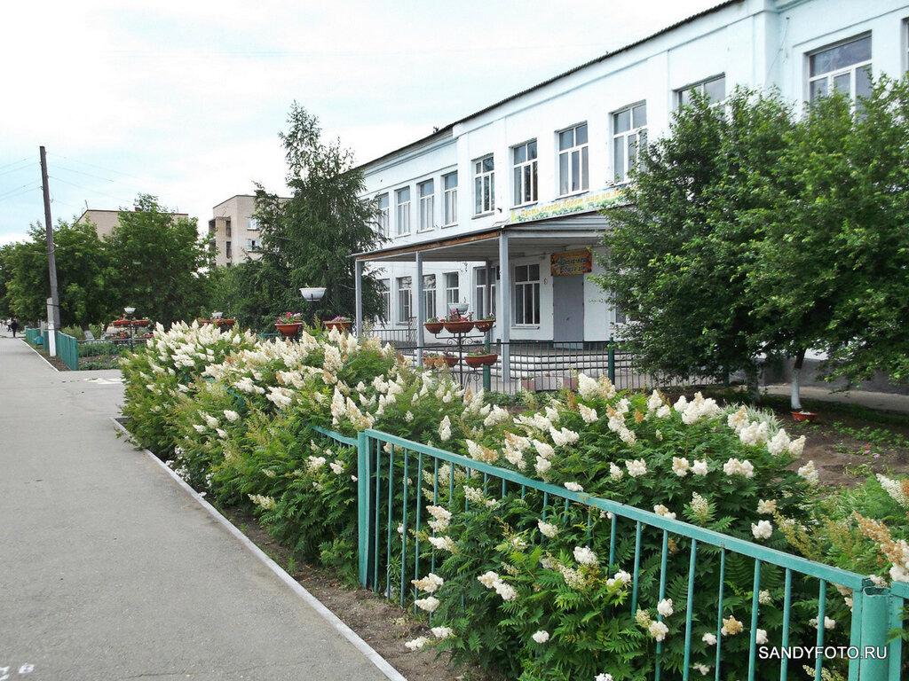 Цветущие метёлки возле школы №3