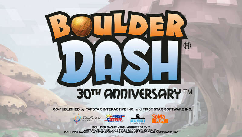 Boulder Dash - 30th Anniversary Deluxe Edition