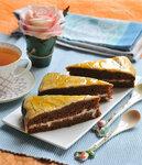 Crazy cake или постный Сумасшедший медовик с кокосовыми сливками и облепихой